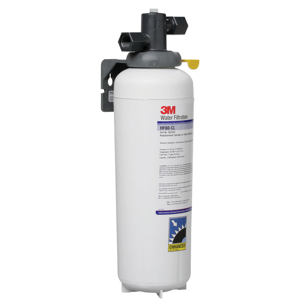 3m hf165 cl chloramine water filtration system for Water feature filtration system