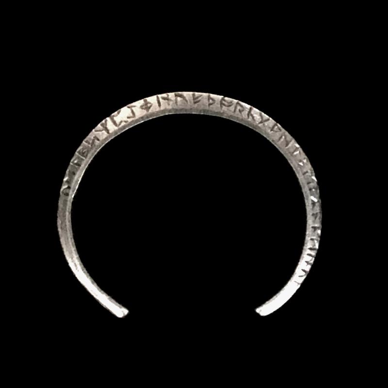 Runes Cuff Bracelet by Bowman Originals, USA