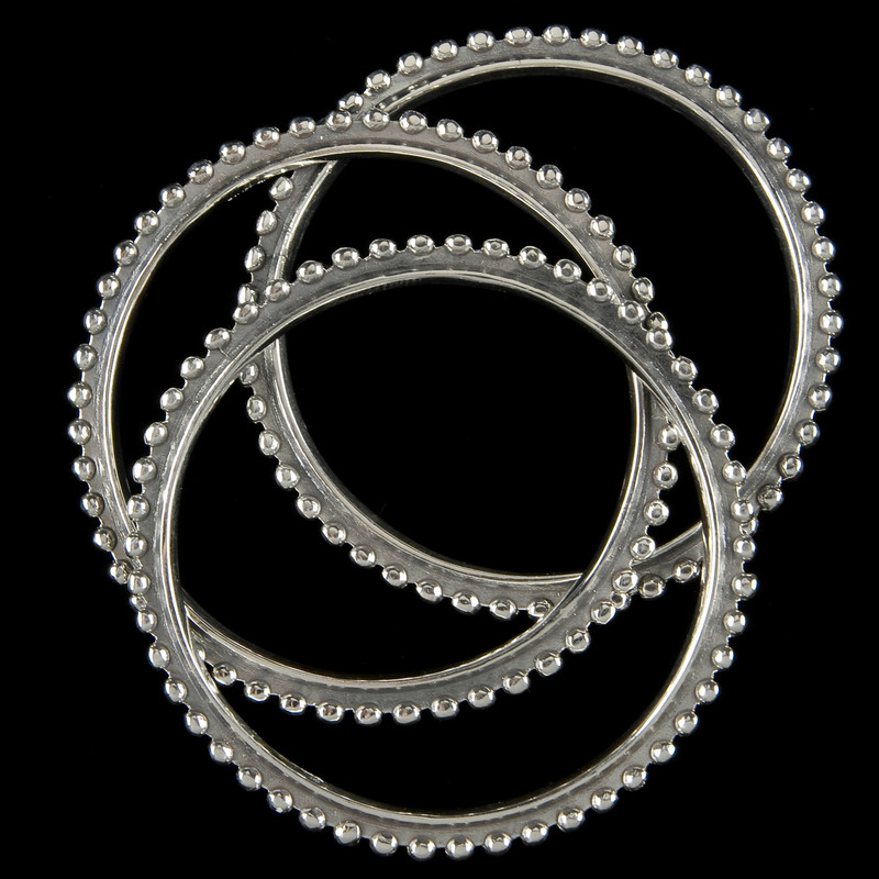 Bangle Bracelets in Sterling Silver handmade by Bowman Originals, USA