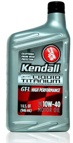 Kendall GT-1 High Performance 10w-40 | 12/1 Quart Case