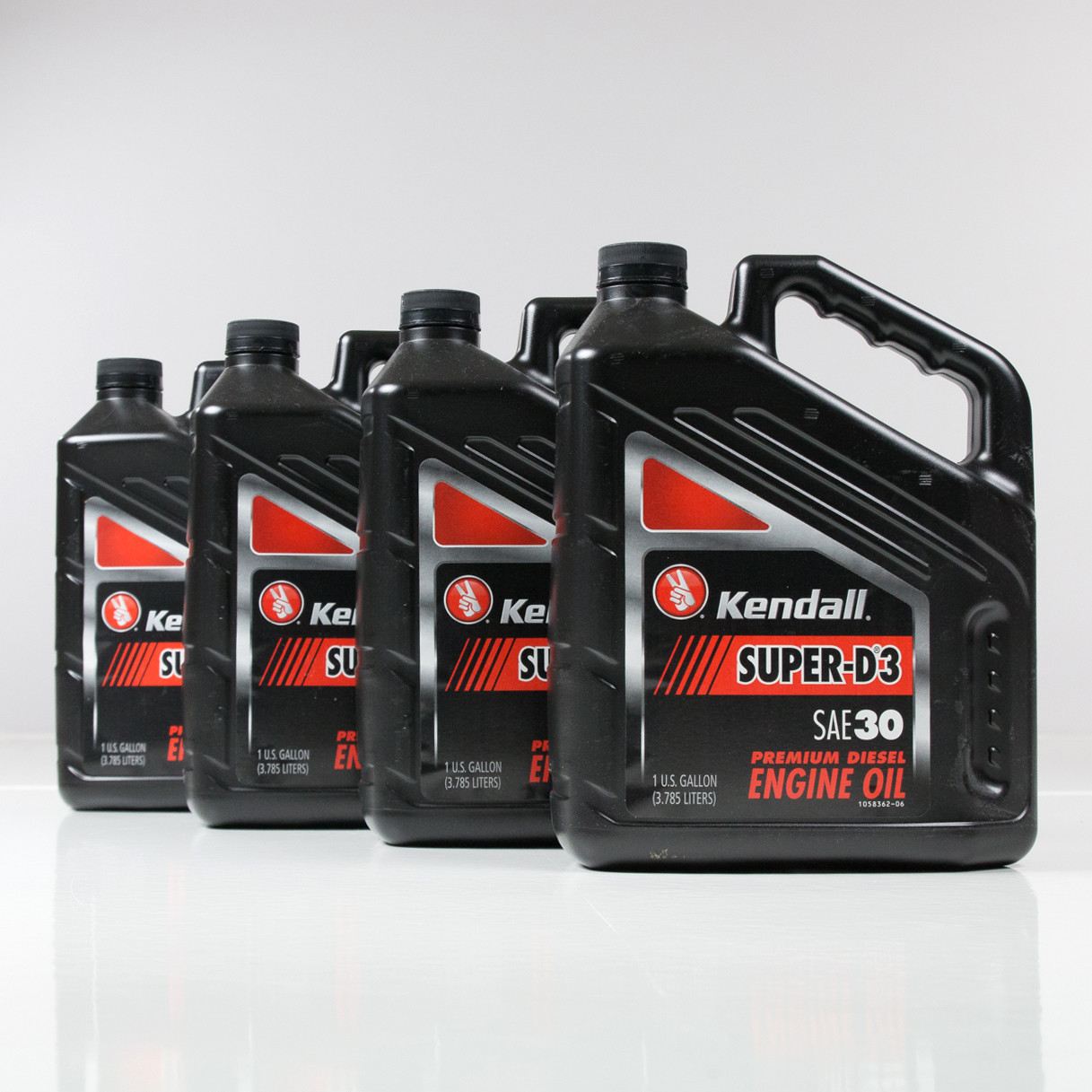 Kendall super d 3 30w engine oil 4 1 gallon case for Kendall motor oil distributors