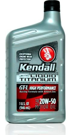 Kendall gt 1 high performance 20w50 12 1 quart case for Kendall motor oil distributors