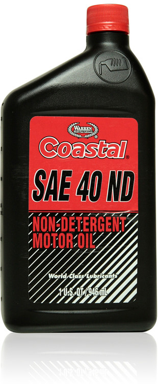 Coastal Non Detergent Motor Oil 40w 12 1 Quart Case