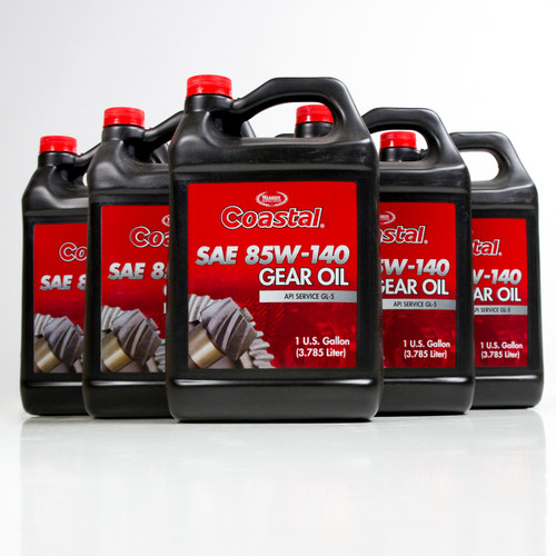 Coastal Premium 85w-140 Gear Oil | 6/1 Gallon Case