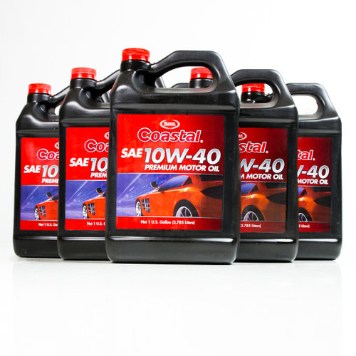 coastal premium 10w 40 engine oil 6 1 gallon case