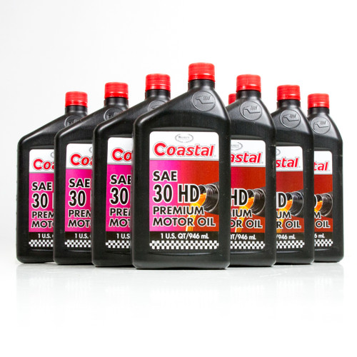 Coastal Premium Hd 30 Engine Oil 12 1 Quart Case