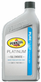 Pennzoil Platinum Full Synthetic 10w-30 | 6/1 Quart Case