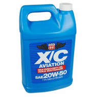 Phillips 66 X/C Aviation Oil 20w-50 Engine Oil | 1 Gallon Bottle