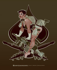 ACES HIGH PINUP GIRL