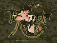 MG42 PINUP GIRL