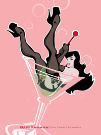 DIRTY MARTINI PINUP GIRL