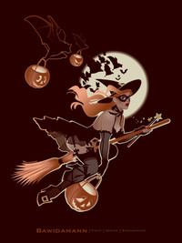 TRICK OR TREAT PINUP GIRL