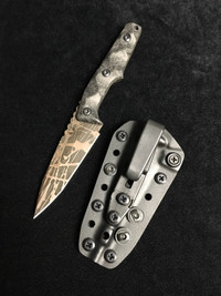 BB HUGINN ACID ETCHED PATINA CUSTOM 6