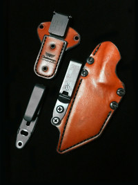 CHATTANOOGA CUSTOM POGN L LEATHER SCABBARD