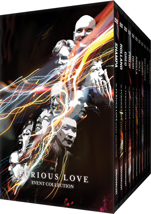 Furious Love Event Collection DVDs