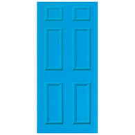 Door Vinyl Decal, Dementia Friendly - Light Blue