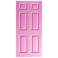 Door Vinyl Decal, Dementia Friendly - Lilac