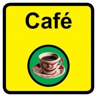 Cafe Sign, Dementia Friendly - 30cm x 30cm