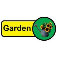 Garden Sign, Dementia Friendly - 48cm x 21cm