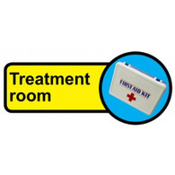 Treatment Room Sign, Dementia Friendly - 48cm x 21cm