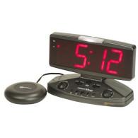 Wake n Shake Vibrating Alarm Clock with Telephone Ringer