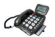 Clearsound 455 Speaking Big-Button Telephone with Caller ID and Answering Machine (30dB)