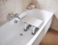 "Medina Plastic Bath Seat - 8"" Height"