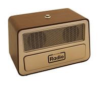 Retro Style FM / AM / USB One Button Radio
