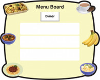 Dry Wipe Menu Board