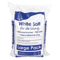 De-Icing Salt, White - 25Kg Bag