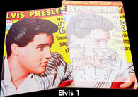 16 Piece Reminiscence Jigsaw - Elvis 1