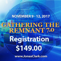 Register here for Gathering the Remnant Conference, November 9th-12th, 2016, Hallandale Beach, FL. For more information or if you need assistance call 1-800-943-6490 or 954 456-4420.