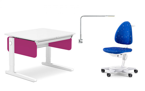 MOLL CHAMPION COMPACT COLOUR DESK SIDE DESK ONLY (COMBO BUNDLE)