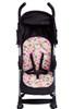 Pink Elephant Stroller Liner