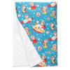 "Retro Rockets XL Baby Blanket (42"" x 32"")"