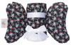 Crossbones Gift Set with Baby Elephant Ears and Large Blanket