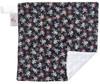 "Crossbones Mini Baby Blanket (12"" x 12"")"