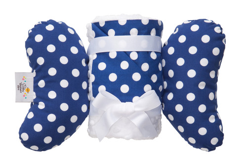 Blue Dot Infant Head Support