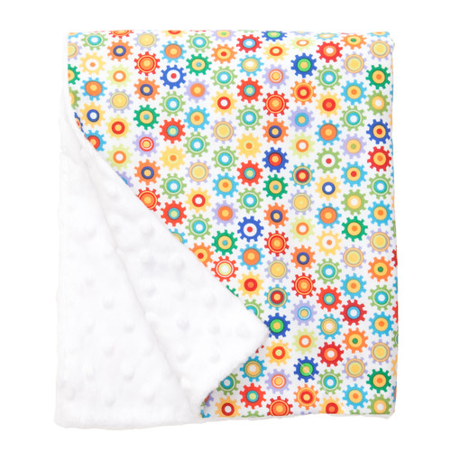 "Sprockets Large Baby Blanket (27"" x 29"")"