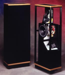 Vandersteen 2Ce Sig Mark II inc pedestals (pair)