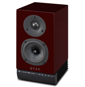 Quad 9AS Active Speakers Ruby Red