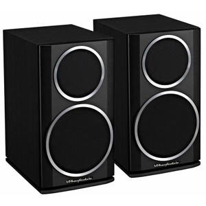 Wharfedale Diamond 121 Bookshelf Speaker. Black. (pair)