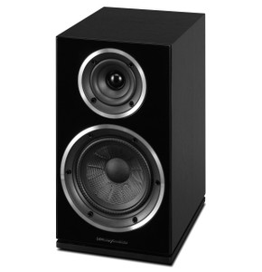 Wharfedale Diamond 225 Bookshelf Speaker. Black. (pair)