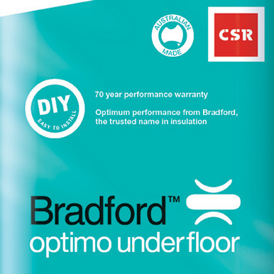 Optimo Underfloor - R2.5 X 565 * 1160 (75mm - 5.6m2 Pack)