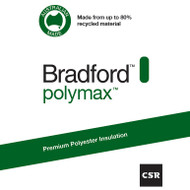 Bradford™ Polymax Wall Batts R2.5 - 1160 mm x 430 mm x 90 mm