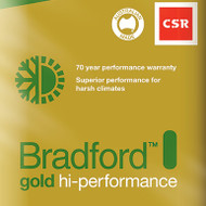 Gold High Performance Ceiling Batts - R5.0 - 580 x 1160 (240mm thick - 5.4m2/pack)