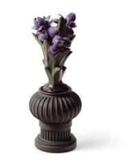 LLADRO LILY FLOWERS POT - WARRIOR BOY (01012543 / 12543)