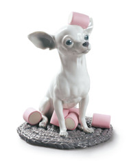 LLADRO CHIHUAHUA WITH MARSHMALLOWS 01009191 (01009191)