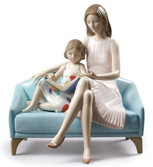 Lladro Our reading moment 01009225 / 9225