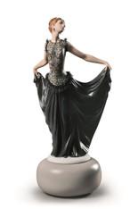Haute Allure Exquisite Creation Woman Figurine. Limited Edition